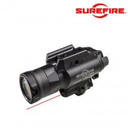 Surefire X400UH-A-RD Ultra-High-Output White LED + Red Laser WeaponLight -