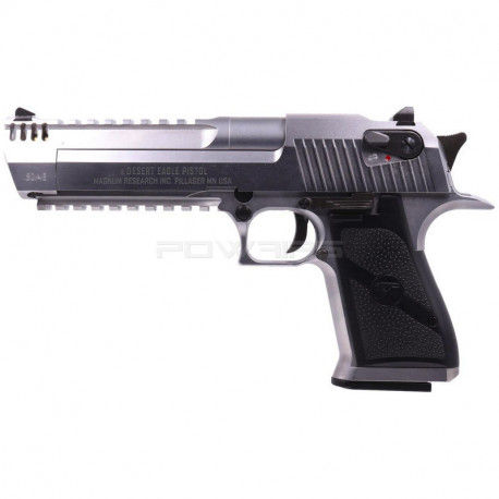 Cybergun WE Desert Eagle L6 50AE gas GBB - Silver -