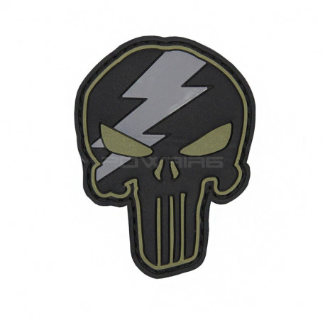Punisher Thunder Velcro patch ( Selectable) -