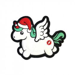 Christmas Unicorn / KISSMYASS Velcro patch -