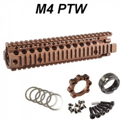 P6 Workshop rail Madbull MK18 9.5 RIS II Tan pour systema PTW M4 -