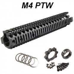 P6 Workshop Madbull MK18 12.5 SOPMOD RIS II for Systema PTW M4 - Black -