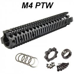 P6 Workshop rail Madbull MK18 12.5 RIS II noir pour systema PTW M4 -