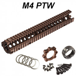P6 Workshop Madbull MK18 12.5 SOPMOD RIS II for Systema PTW M4 - Tan -