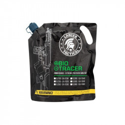 Lancer Tactical 0.20gr Bio tracer green BBs 2000 rds bag -