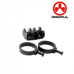 Magpul Share Icon Light Mount V-Block and Rings -