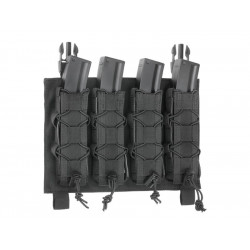 8FIELDS quad BUCKLE UP pouch for MP5 MP7 MP9 & Kriss vector Magazine - Black -