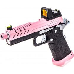 VORSK HI-Capa 4.3 gas GBB pink with red dot -