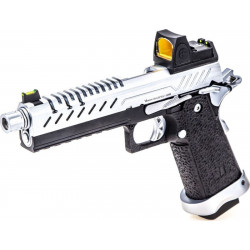 VORSK HI-Capa 5.1 gas GBB silver with red dot