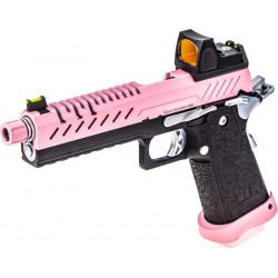 VORSK HI-Capa 5.1 gas GBB pink with red dot -