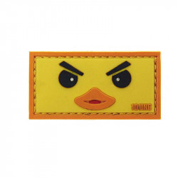 Duckface - Yellow Velcro patch