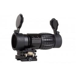 AIM Magnifier 4X Noir