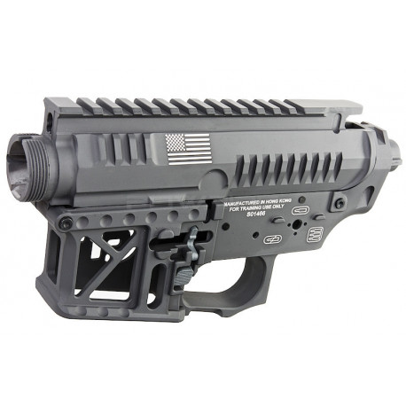 G&P Signature Receiver for M4 AEG - Grey