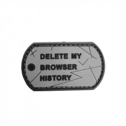 Browser History Dog Tag Patch -