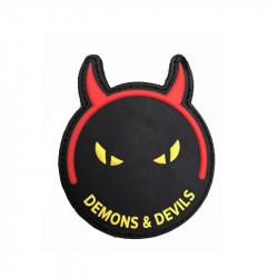 Demons & Devils Patch, black-yellow -