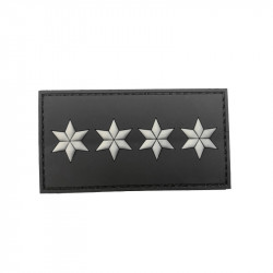 Patch Grade 4****, noir -
