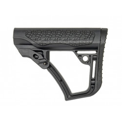BELL DD style retractable Stock for M4 AEG - Black -