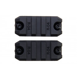 ARES M-Lok 2 inch Rail set of 2 -