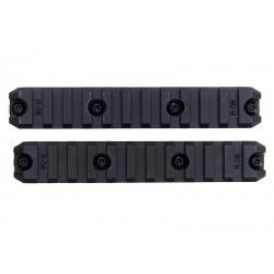 ARES lot de 2 rails M-LOK 5 inch -