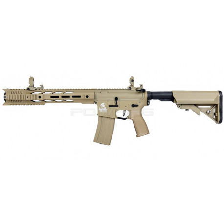 Lancer Tactical LT-25 M4 Interceptor Hybrid 10 inch ETU Tan -