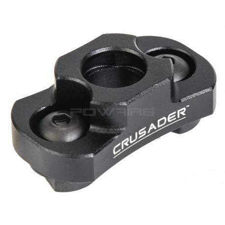 Crusader M-LOK QD Type Sling Swivel Mount - Black -