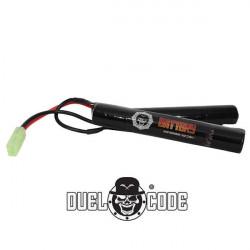 Duel Code Batterie 9.6V 1600mah NI-MH Mini tamiya -