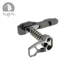 Kublai magazine catch ambidextre gris type B pour M4 AEG (gris) -