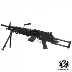 Fn Herstal réplique FN M249 AEG fibre de nylon -