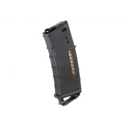 KUBLAI 120rds PMAG with ranger plate for M4 AEG - Black -