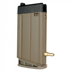 Chargeur 24 coups HPA pour SCAR H VFC (Dark Earth) -