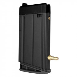 24 rounds HPA magazine for VFC SCAR H GBB - BLACK -