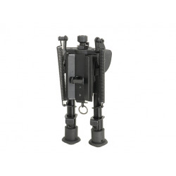 ACM Adjustable 6 steps BIPOD with RIS mount adapter -