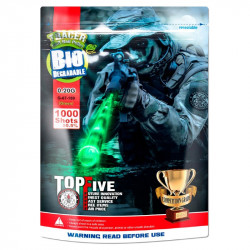 G&G Armament 0.20g tracer green BB 1000rds White