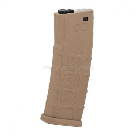 G&G 90rds polymer magazine for TR16 556 - TAN -