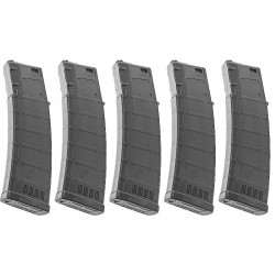 ARES 170rds AMAG Magazine for M4 AEG (5 pack) - Black