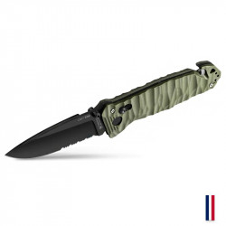 TB Outdoor knif CAC S200 Serration G10 Toxifié - OD