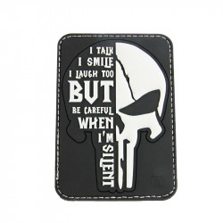 Patch SILENT PUNISHER - Noir -