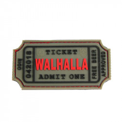 Patch WALHALLA TICKET - selectionnable -