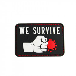 Patch WE SURVIVE PUNCH THE VIRUS - Noir -