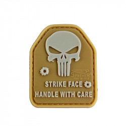 Patch SAPI PLATE Punisher - Tan -