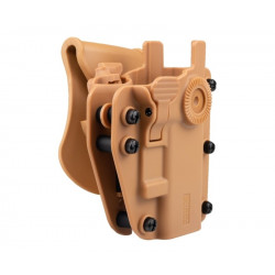 SWISS ARMS Holster ADAPTX LEVEL 3 Ambidextre Universel - Coyote -