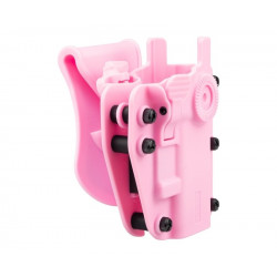 SWISS ARMS Holster ADAPTX LEVEL 3 Ambidextre Universel - Rose -