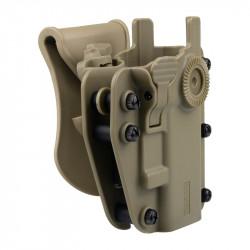 SWISS ARMS ADAPTX LEVEL 3 Ambidextrous Universal Holster - Ranger Green -