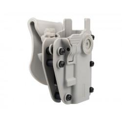 SWISS ARMS ADAPTX LEVEL 3 Ambidextrous Universal Holster - Urban Grey -