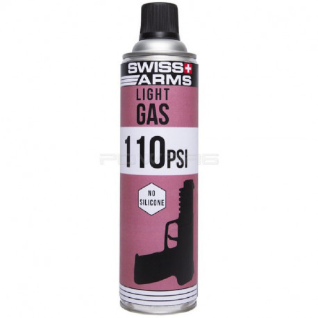 Swiss Arms dry Green gas 110 PSI 600ml -
