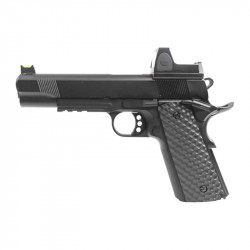 Nuprol 1911 RAVEN full metal gas GBB with BDS red dot - black -