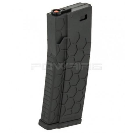 SHS chargeur polymère 120 coups pour AEG M4 noir -