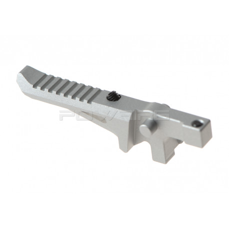 Prometheus adjustable custom Trigger for Ares M4 EFCS - Silver