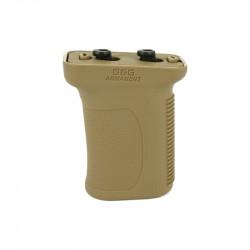 G&G polymer hand grip for keymod handguard - Tan