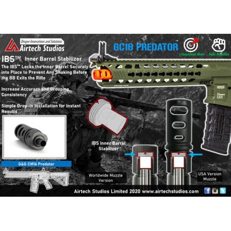 Airtech Studios IBS Inner Barrel Stabilizer for G&G Predator -